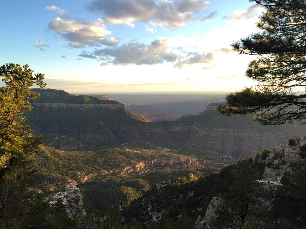 Grand Canyon, Timp Point